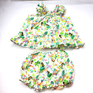 Hula Girl Two Piece Outfit Sz 24M